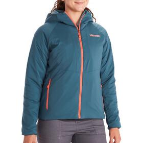 Marmot WarmCube Novus Hoody Jacket Women, Azul petróleo